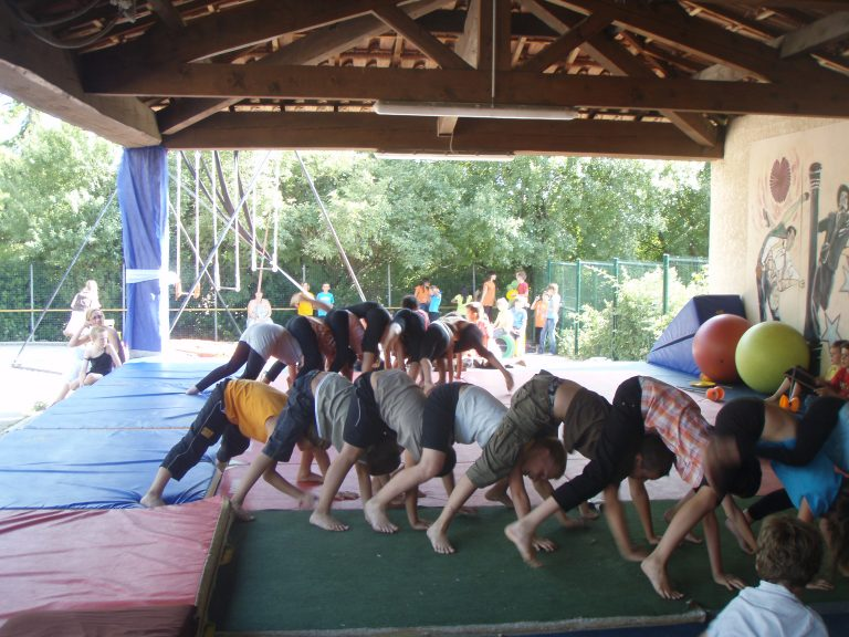 acrobatie scolaire