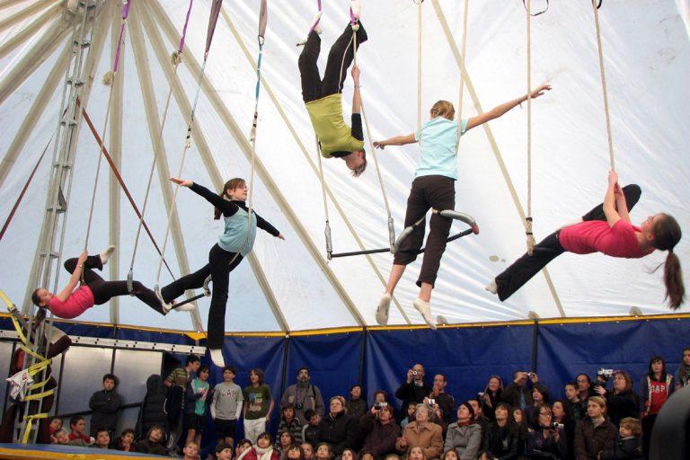 cours aerien cirque