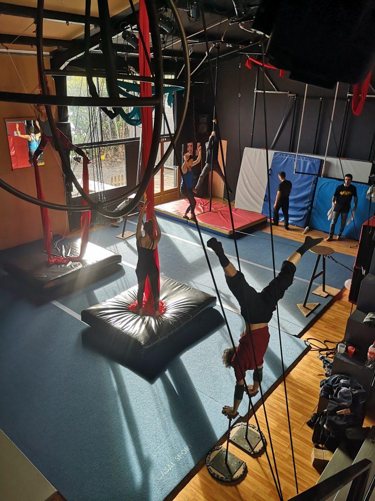 entrainement libre cirque