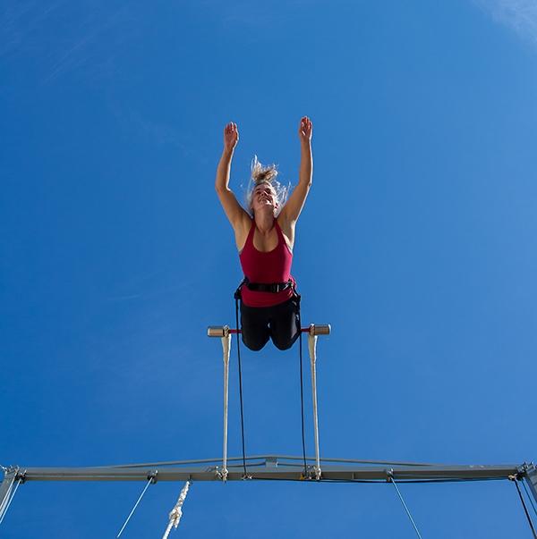 stage trapèze ballant